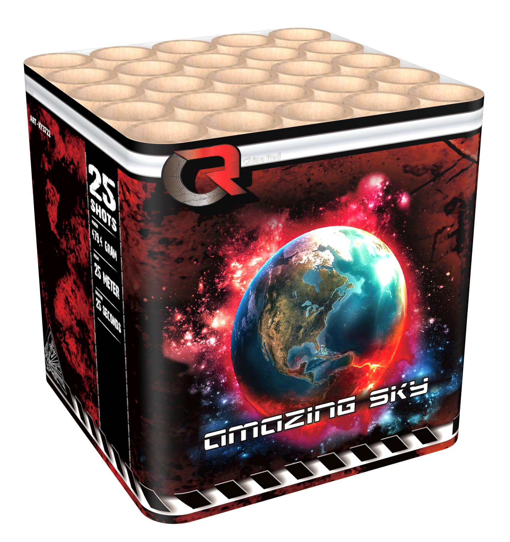 Amazing sky 500 gr cake mooie effecten ky3722 china red for Intratuin lochem