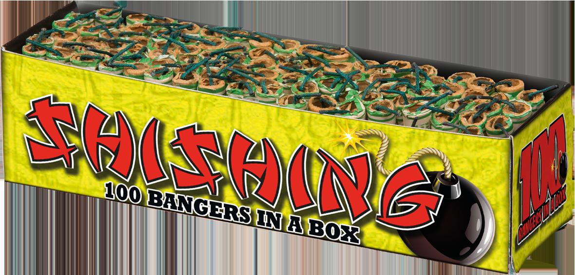 Kanonslag Shishing (100 stuks)*