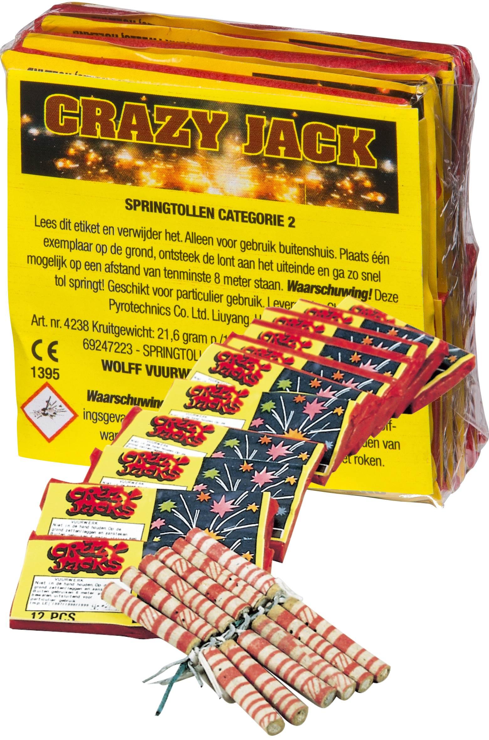 Jumping Jack/Crazy Jack (12 stuks)*