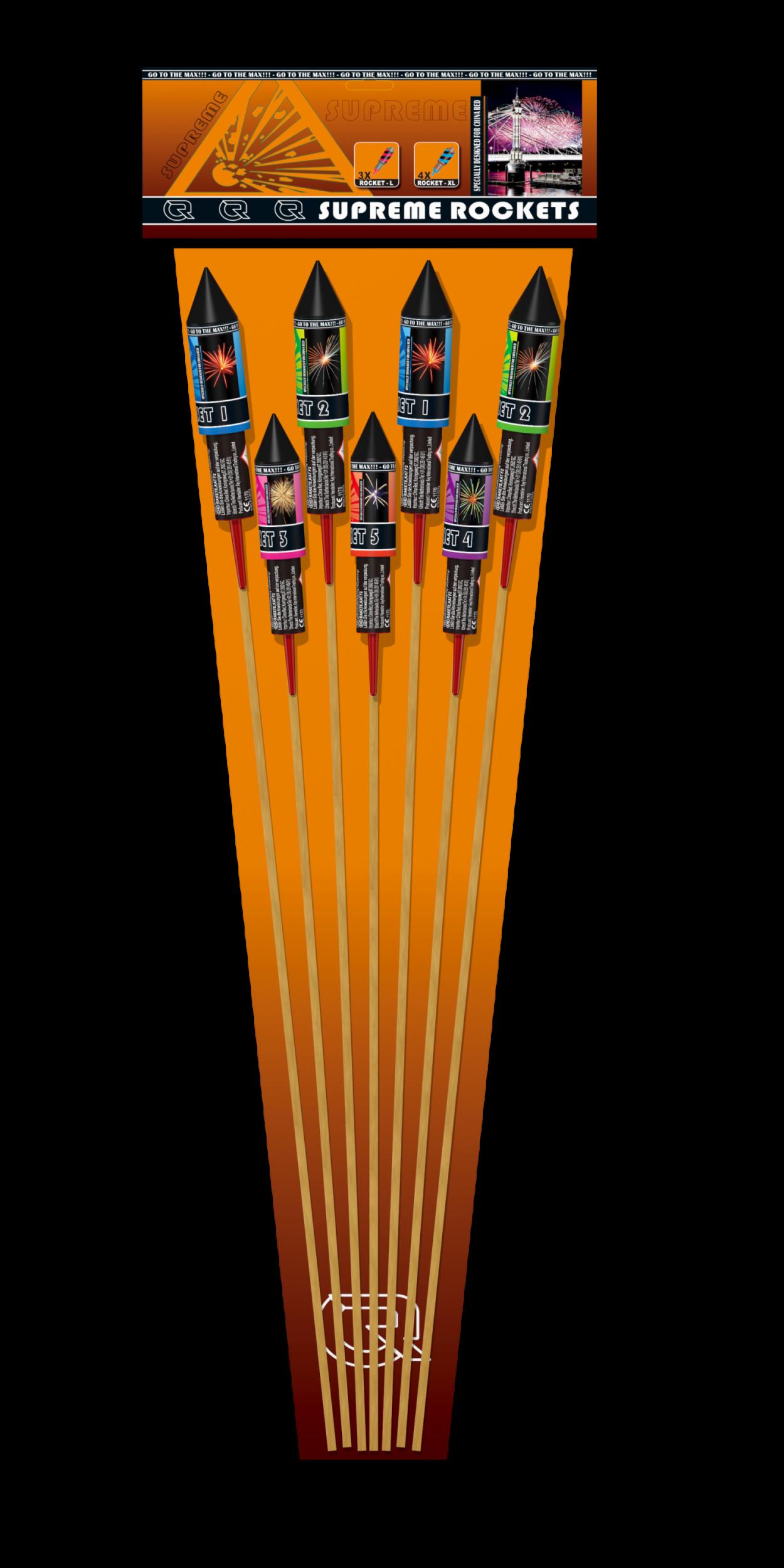 Supreme Rockets (7 pijlen)