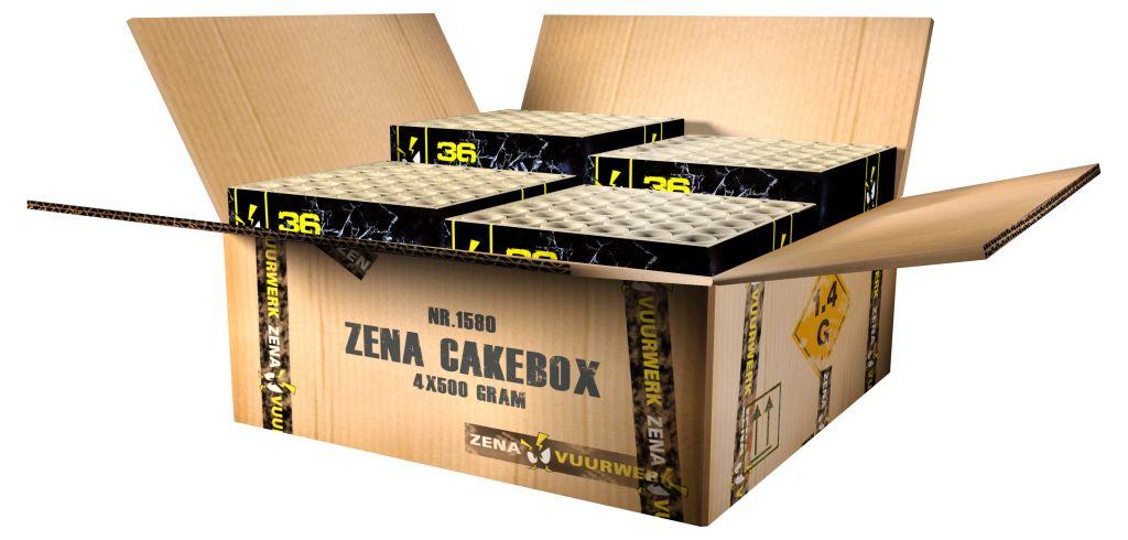 ZENA CAKE BOX  TOPPER