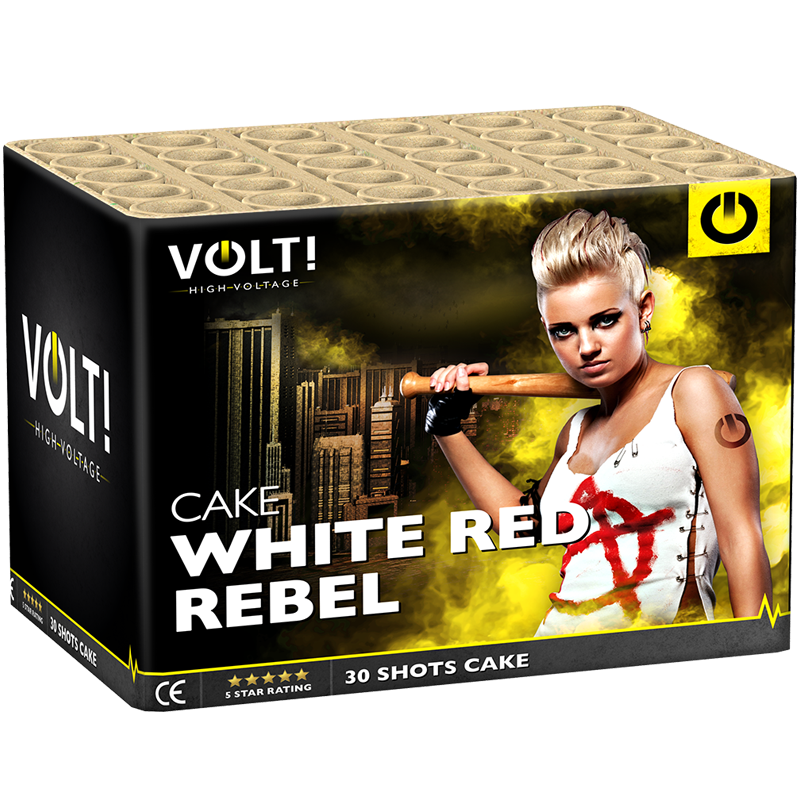 WHITE RED REBEL ( 2E PAATS BESTE CAKE 2017 )
