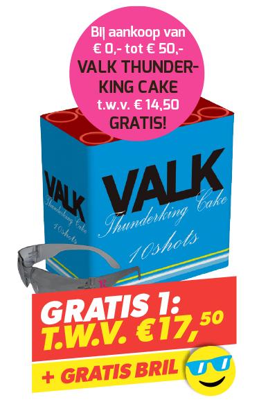 VALK THUNDERKING CAKE + BRIL