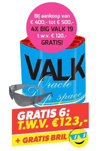BIG VALK 19 4 STUKS + BRIL