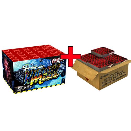 ESPADA PALMS BOX 100'S + GRATIS BLUE WILLOW