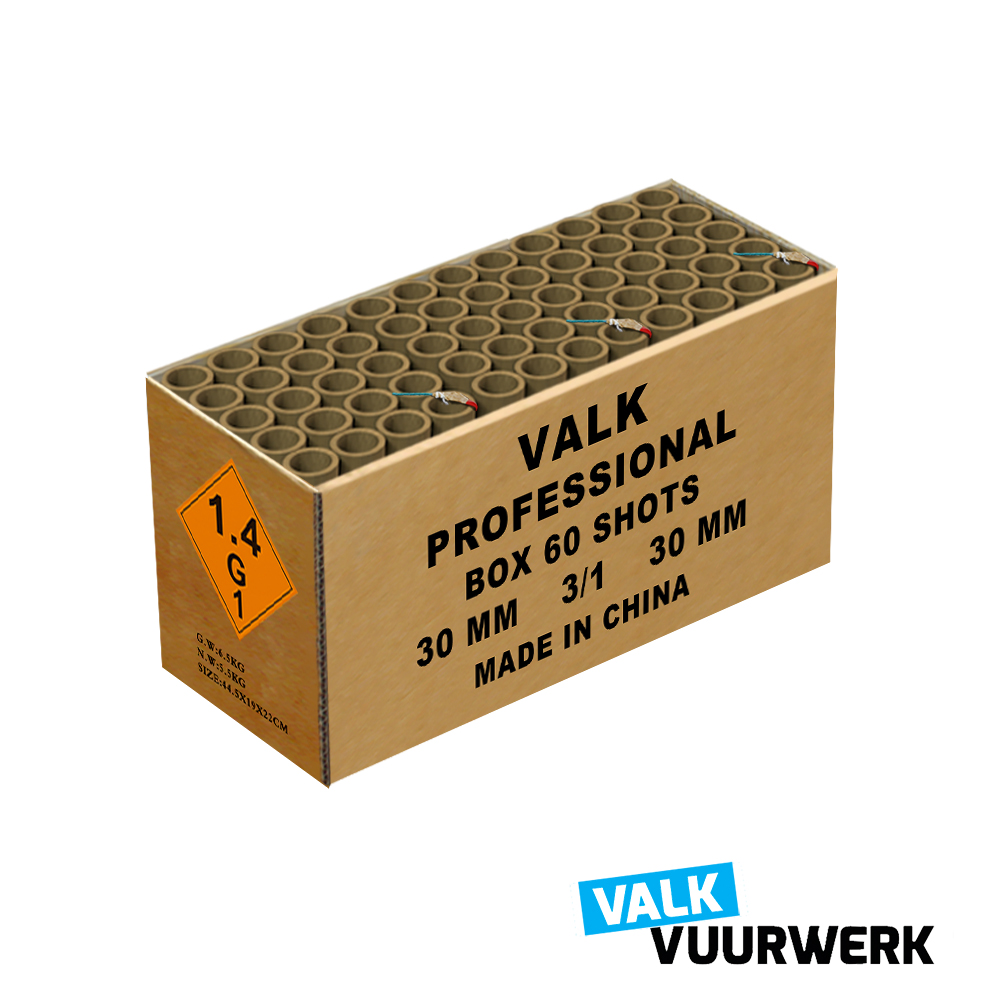 VALK PROFESSIONAL BOX 60 ( NEW )