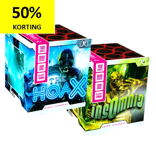 THE HOAX + INSOMNIA  1 + 1 GRATIS