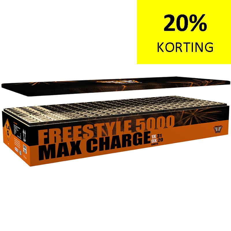 FREESTYLE 5000 MAX CHARGE BOX NIEUW