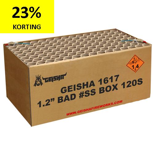 "1.2"" BAD #SS BOX NIEUW"