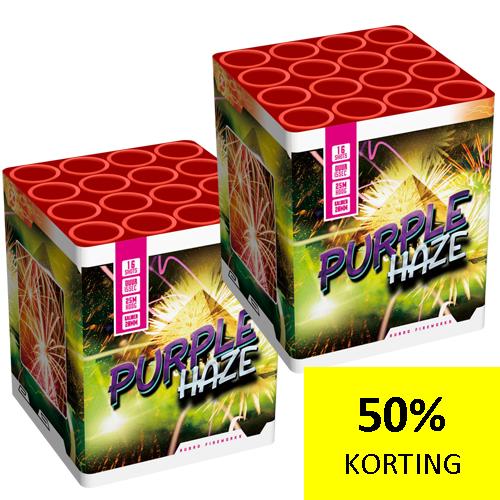 PURPPLE HAZE  1 + 1 GRATIS NIEUW