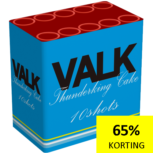 VALK THUNDERKING CAKE ( NIEUW )