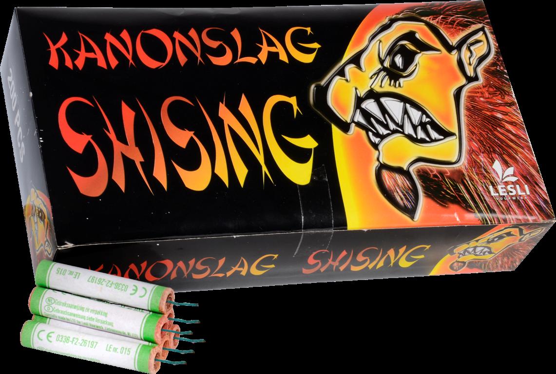 Kanonslag shising