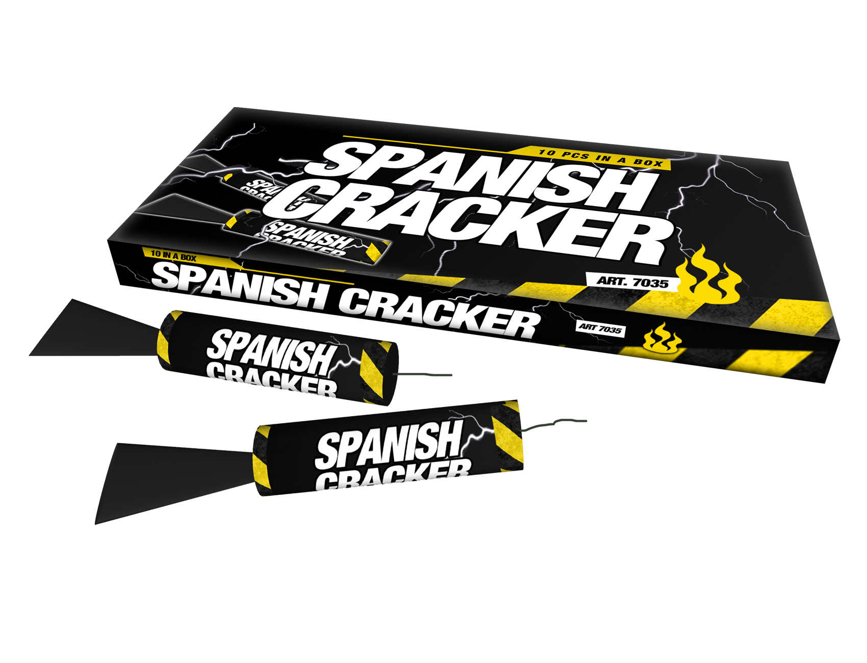 Spanish Crackers 10 stuks