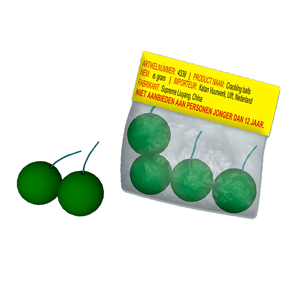 Crackling Balls 6st