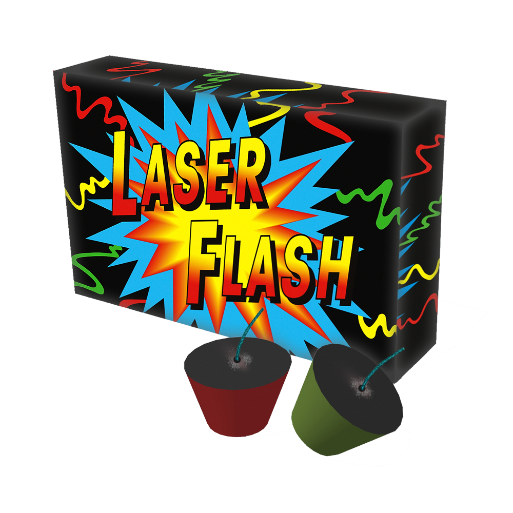 Laser Flash 6 stuks