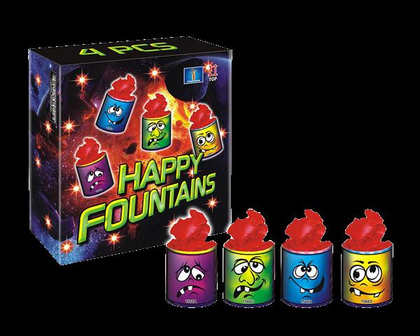 HAPPY STARS 4 stuks