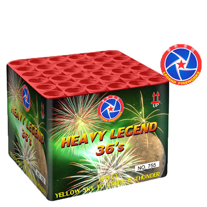 HEAVY LEGEND 36 SCHOTEN / YELLOW SKY TO GREEN
