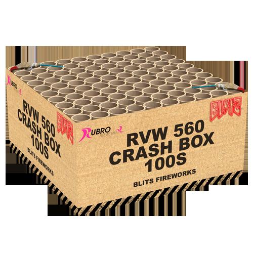 CRASH BOX 100 schoten NIEUW!