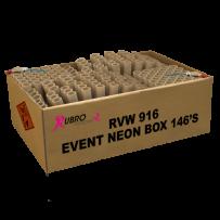 EVENT NEON BOX 146 schoten NIEUW!