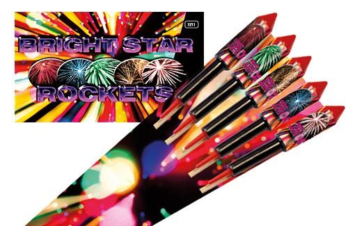 Bright Star Rockets 5 stuks
