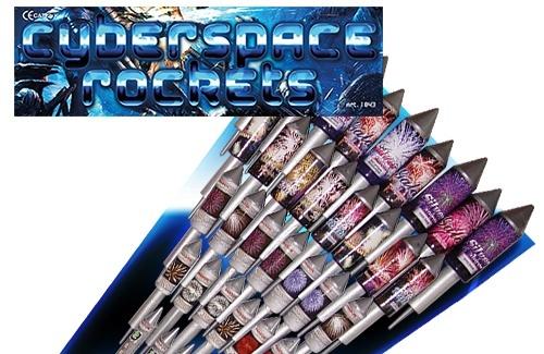 Cyberspace Rockets *Nieuw *