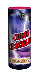 Color Crackling fontein