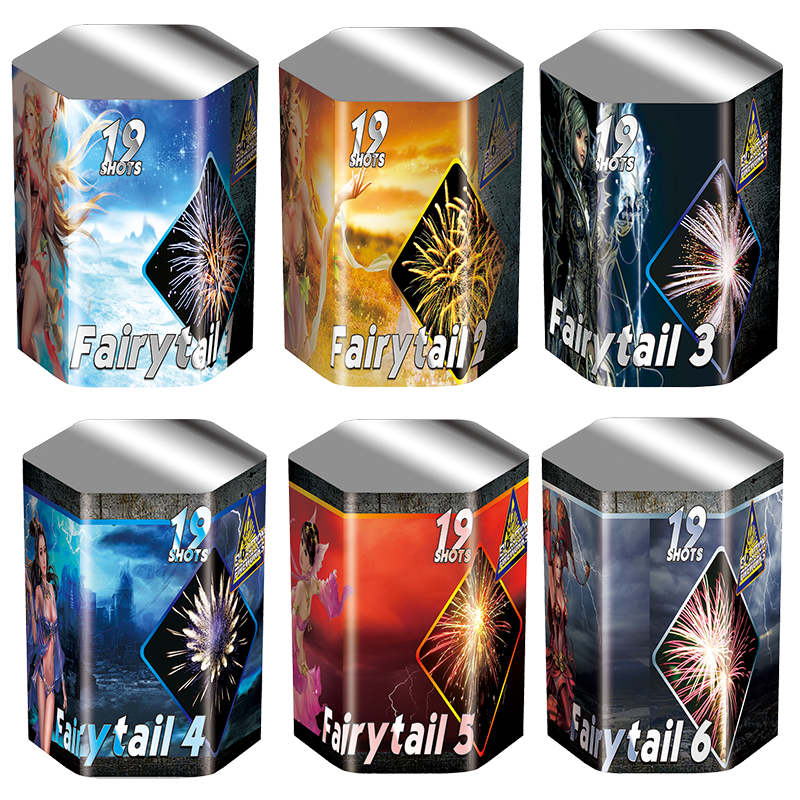 Evolution Fairy Tail Assorti