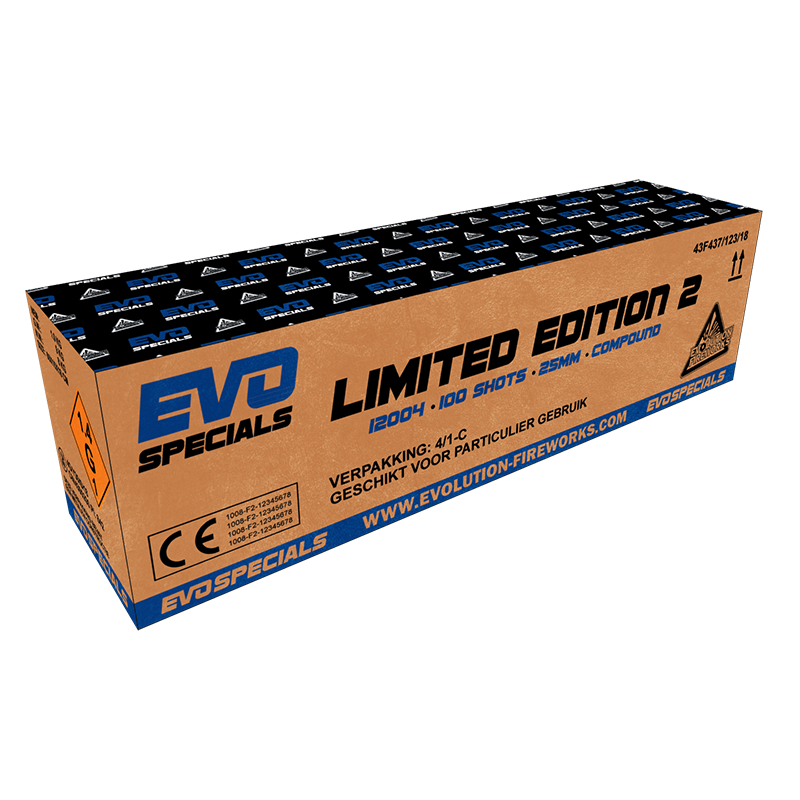 Evo Specials Limited Edition 2 100 shots 25mm compound