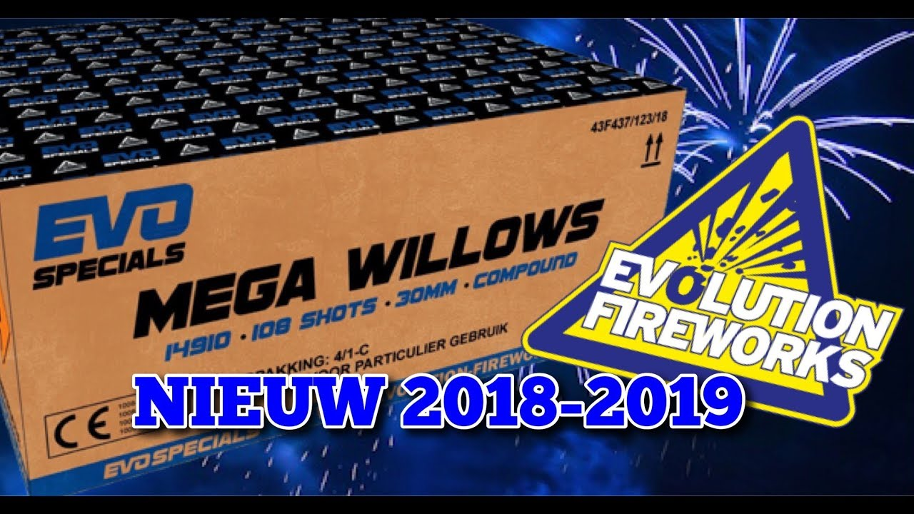 Evo Specials Mega Willows 108 shots 30mm compound