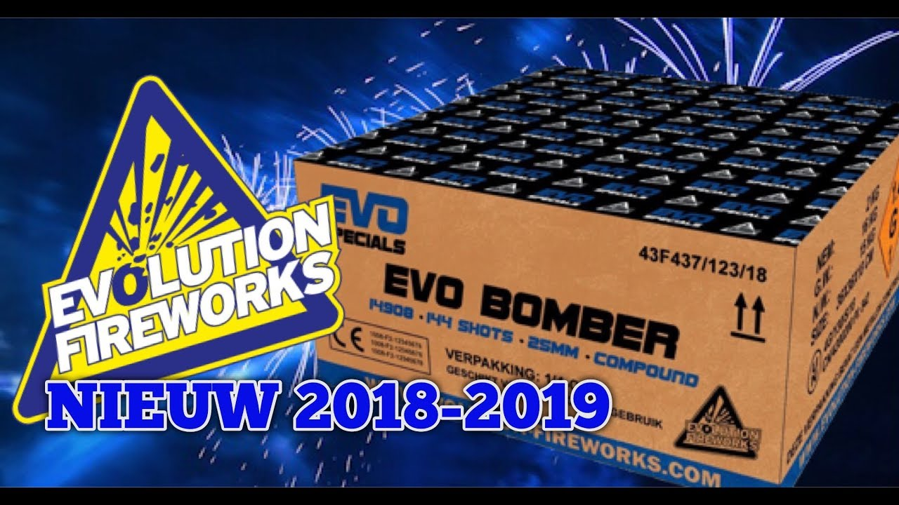 Evo Specials Evo Bomber 100 shots 25mm compound