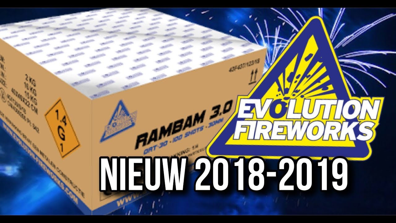Evolution RamBam 3.0 cakebox 4x500 gram 30mm