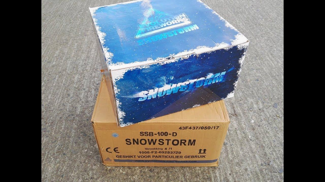 Evolution Snowstorm 100shots 30mm