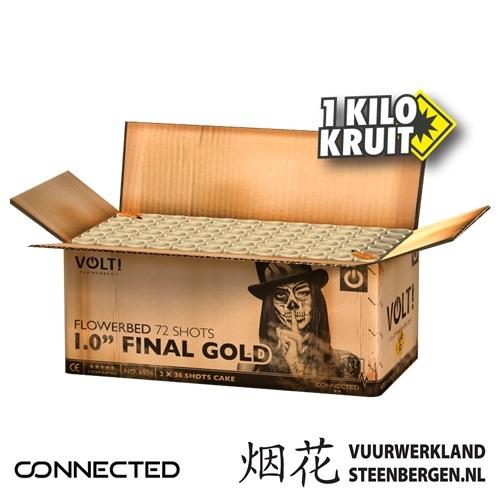 1.0'' Final Gold Box