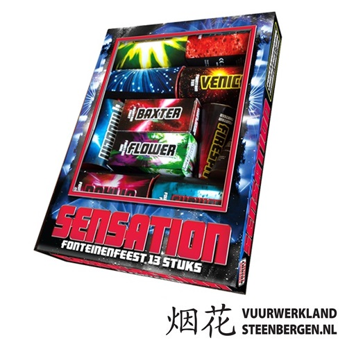 Sensation fonteinenpakket