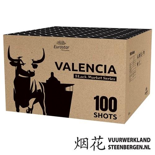 Valencia 100's flowerbed