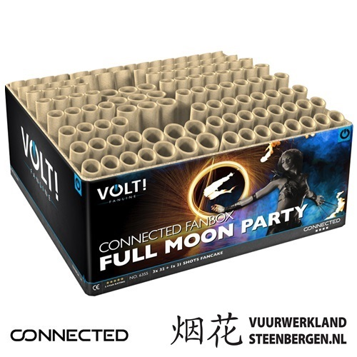 VOLT! Full Moon Party waaierbox