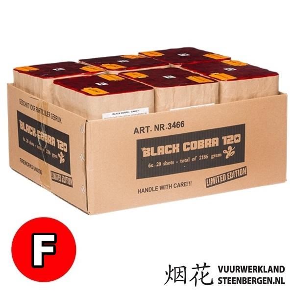Black Cobra 120S box t.w.v. € 189.00 (F)