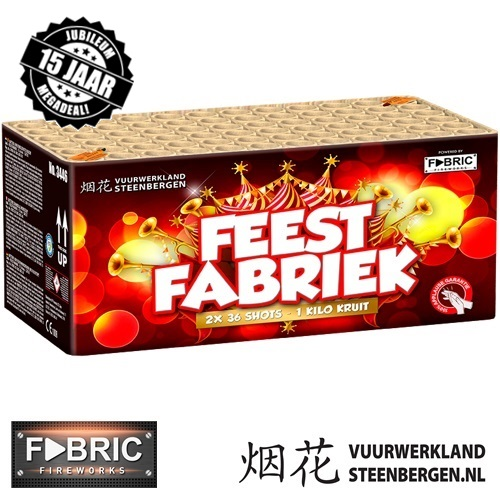 De Feestfabriek 72's box*