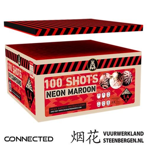 Neon Maroon Box