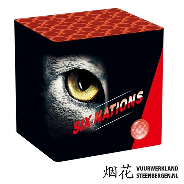Six Nation 30S Cake