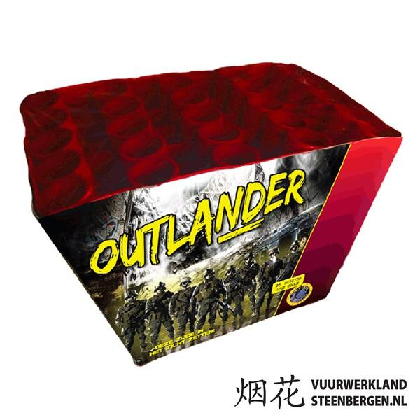 Outlander waaiercake