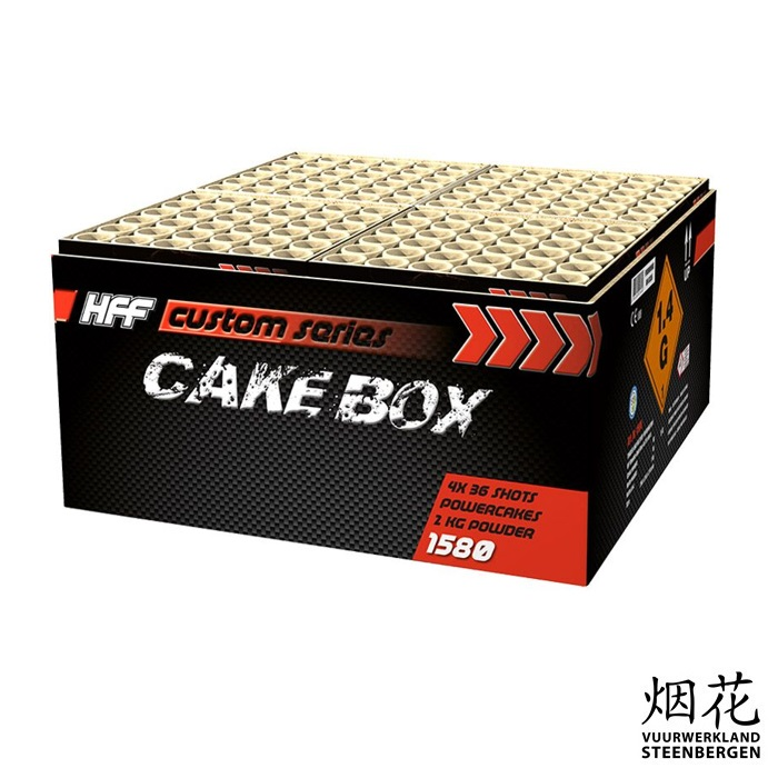 HFF Cakebox 144's