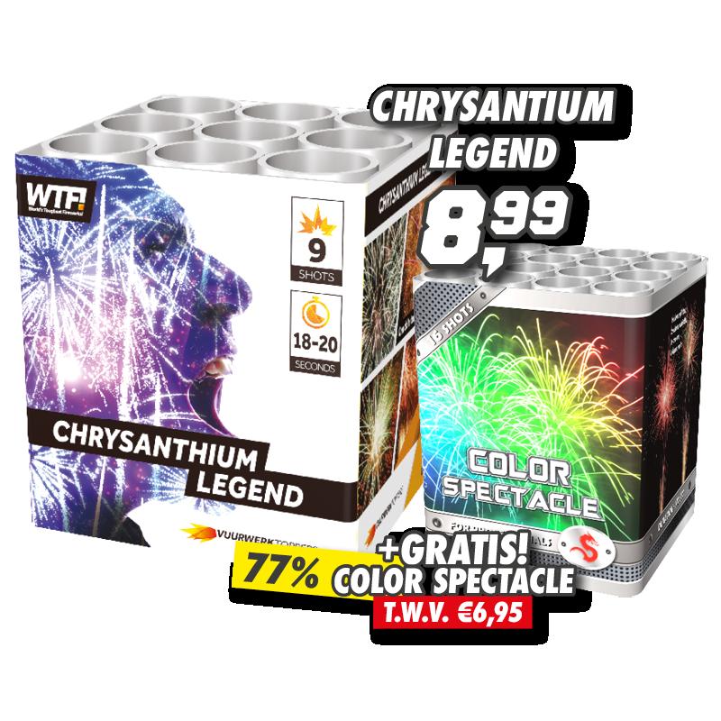 chrysantium legend +  Color Spectacle