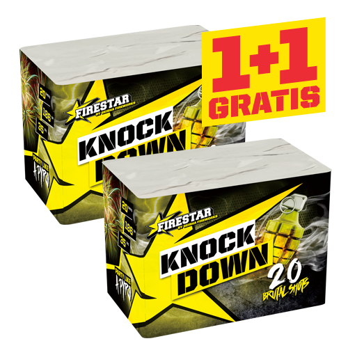 KNOCK DOWN  (1+1 GRATIS!)
