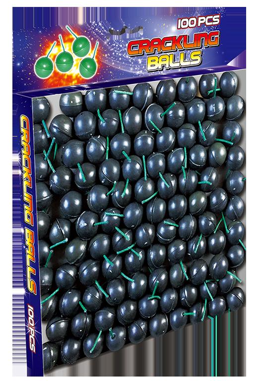 Crackling Balls 100 pack