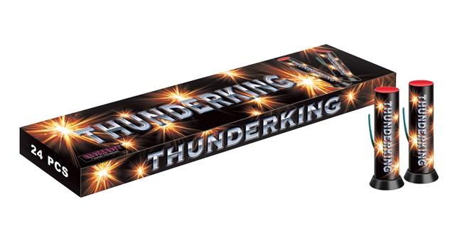 Thunder King Salute Cake