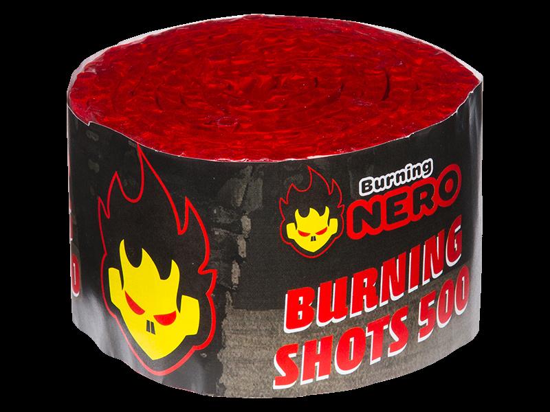 Burning String 500 shots