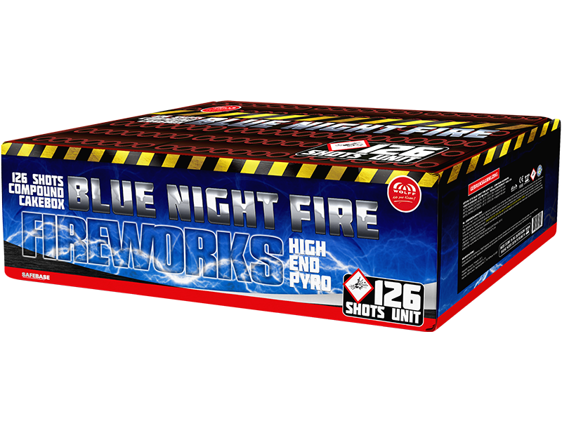 Bleu Night Fire