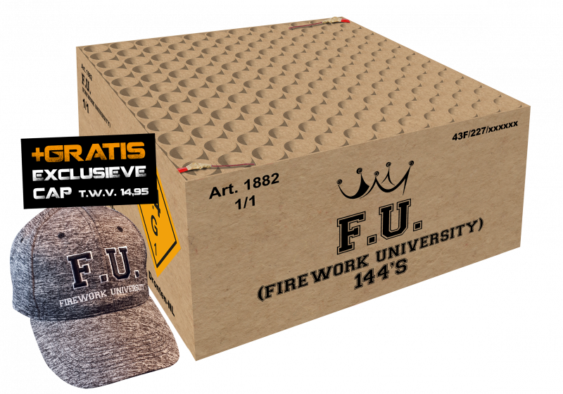 F.U. (Firework University) 144sh.