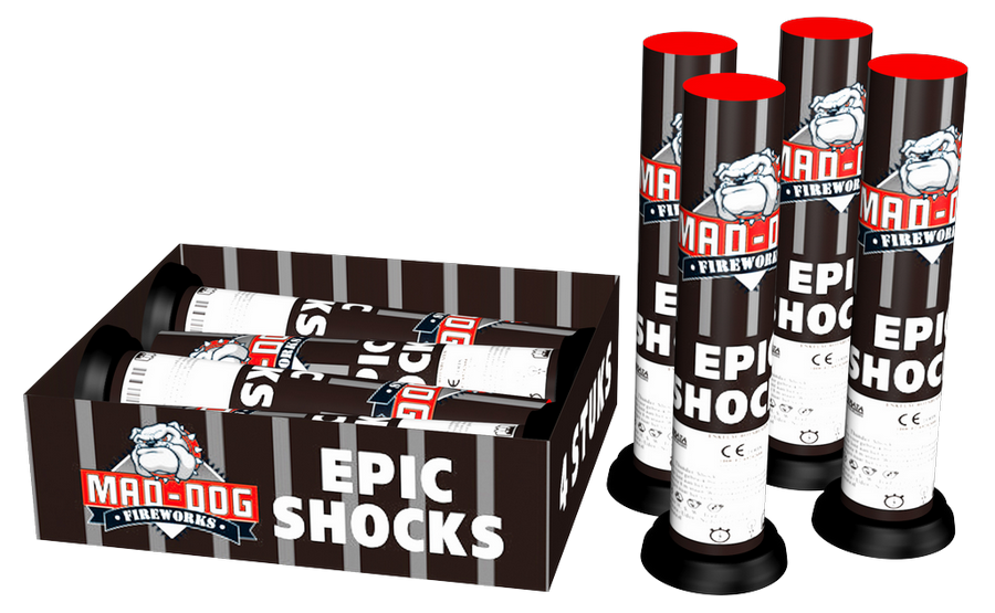 Epic shocks 4 st.